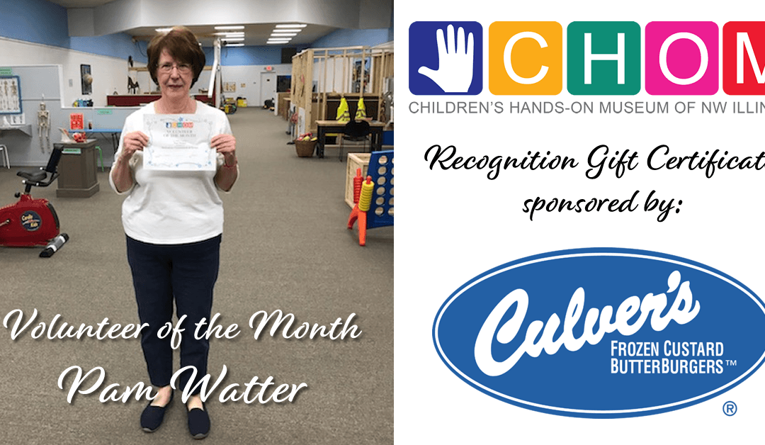 Volunteer of the Month: Pam Watter