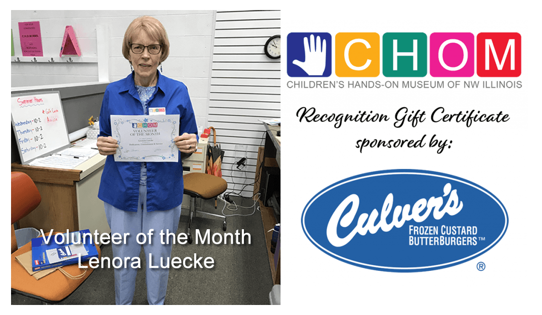 Volunteer of the Month: Lenora Luecke