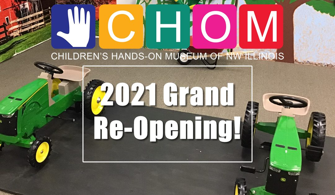 Support CHOM's New Year Grand-Reopening!