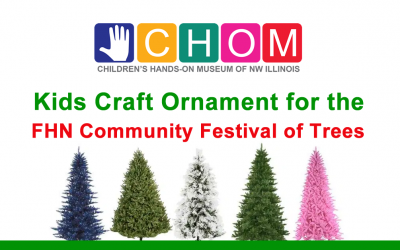 Kids Craft Ornament for FHN Community Festival of Trees